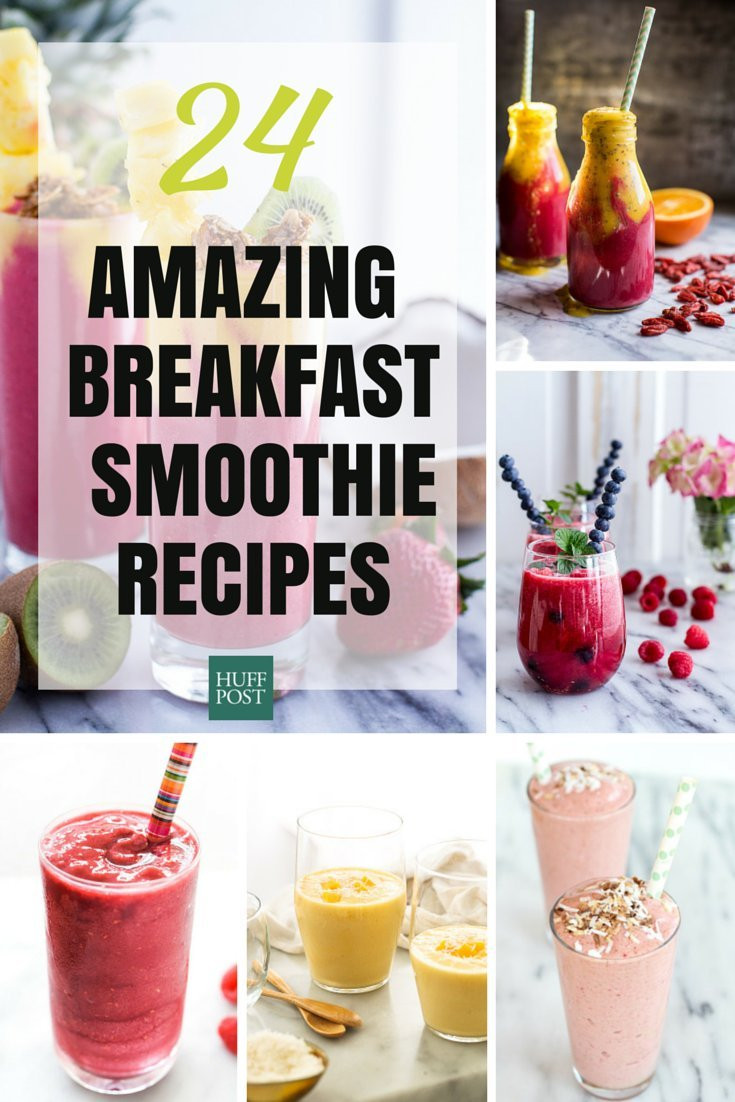 Healthy Breakfast Smoothie Recipes  Breakfast Smoothie Recipes That ll Rev Up Your Morning