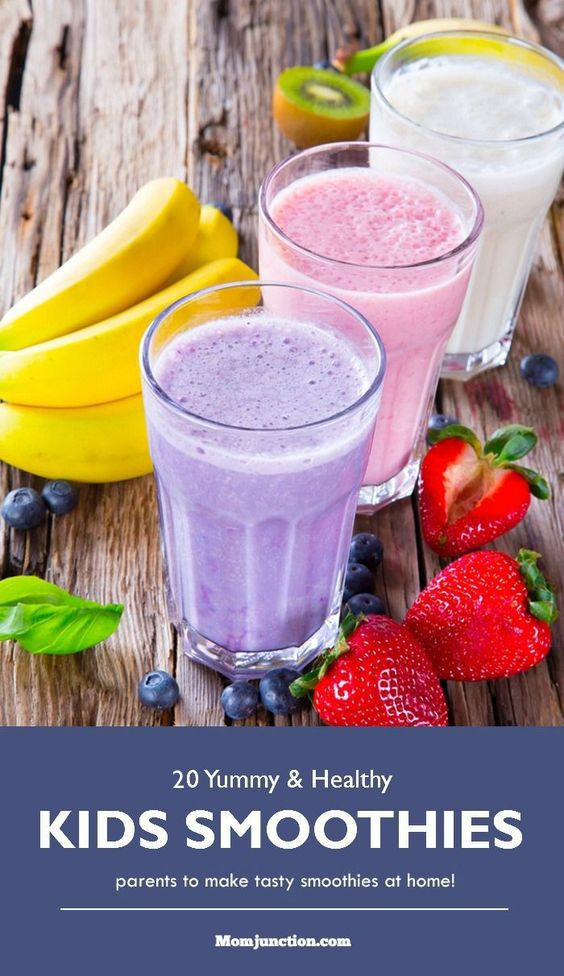 Healthy Breakfast Smoothies For Kids  1000 ideas about Healthy Birthday Treats on Pinterest