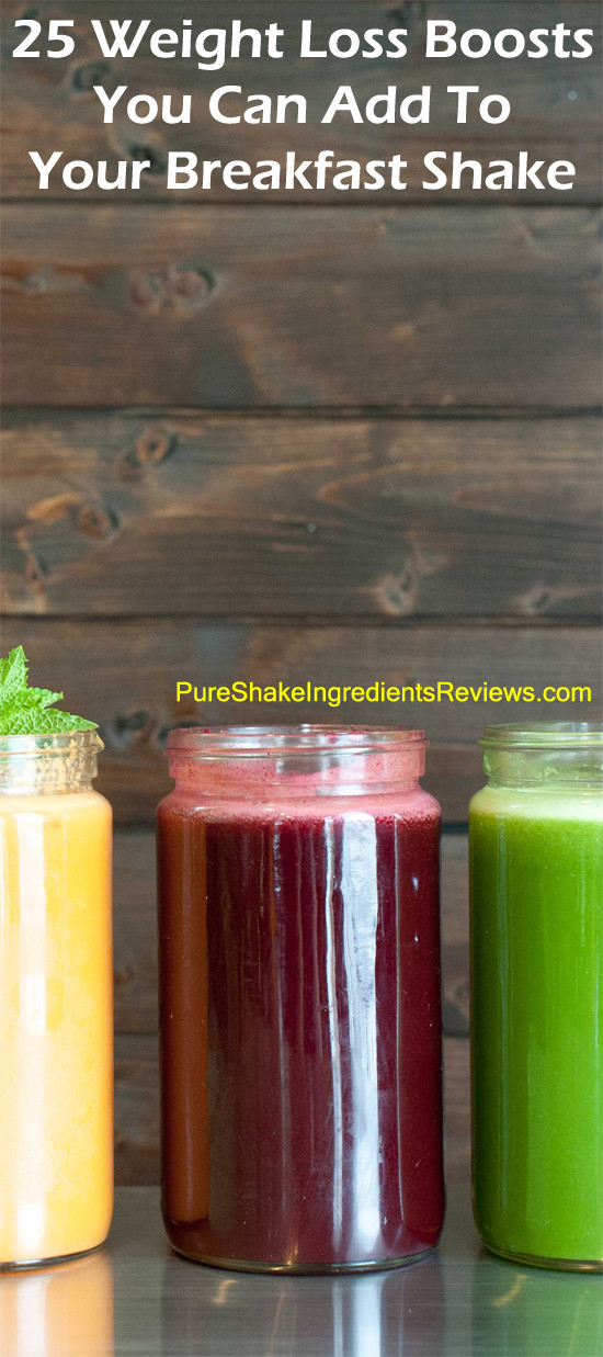 Healthy Breakfast Smoothies For Weight Loss  25 Boosts For Healthy Breakfast Smoothies WEIGHT LOSS