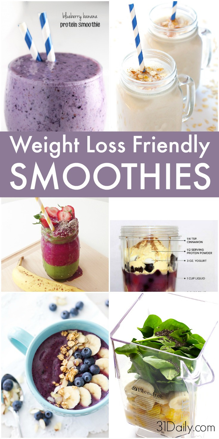 Healthy Breakfast Smoothies For Weight Loss  9 Skinny Breakfast Smoothies to Aid Weight Loss 31 Daily