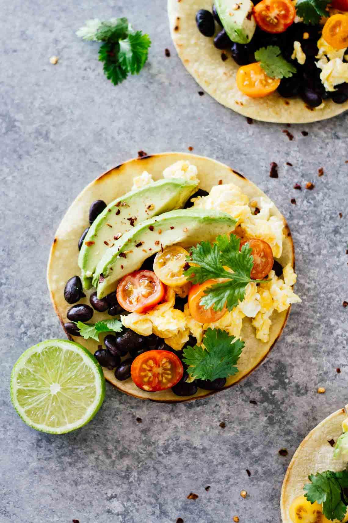 Healthy Breakfast Tacos  The BEST Healthy Breakfast Tacos Jar Lemons