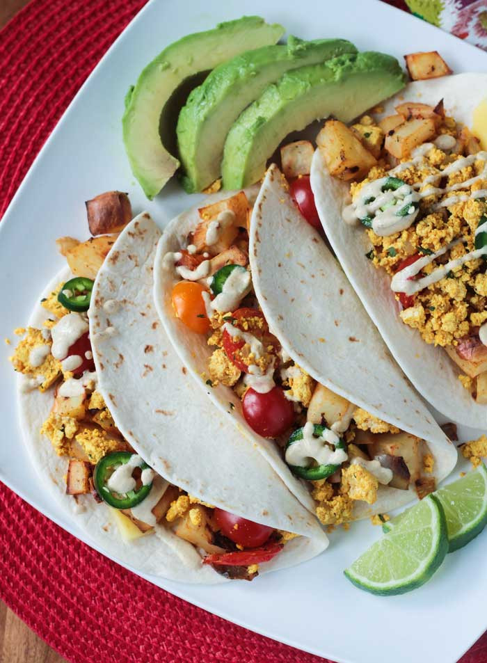 Healthy Breakfast Tacos Recipe 20 Best Ideas Healthy Breakfast Tacos W tofu & Roasted Potatoes