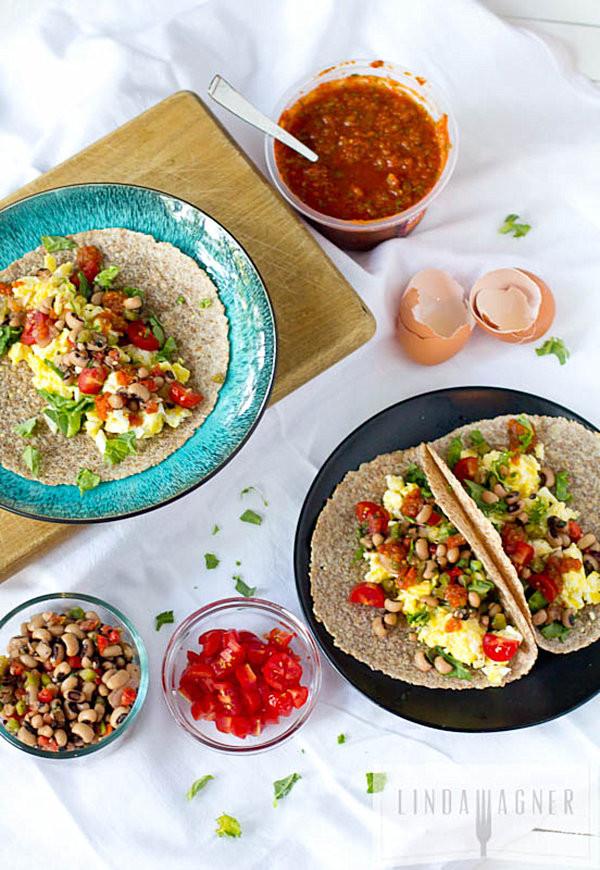 Healthy Breakfast Tacos Recipe  Throw A Festive Summer Brunch