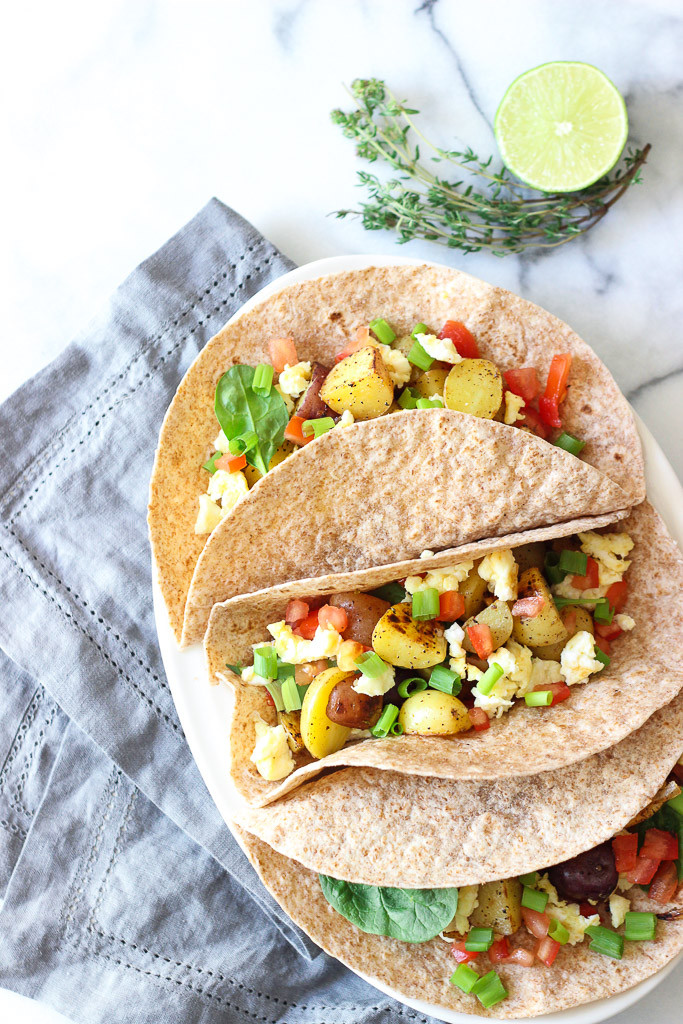 Healthy Breakfast Tacos Recipe  Breakfast Tacos Exploring Healthy Foods