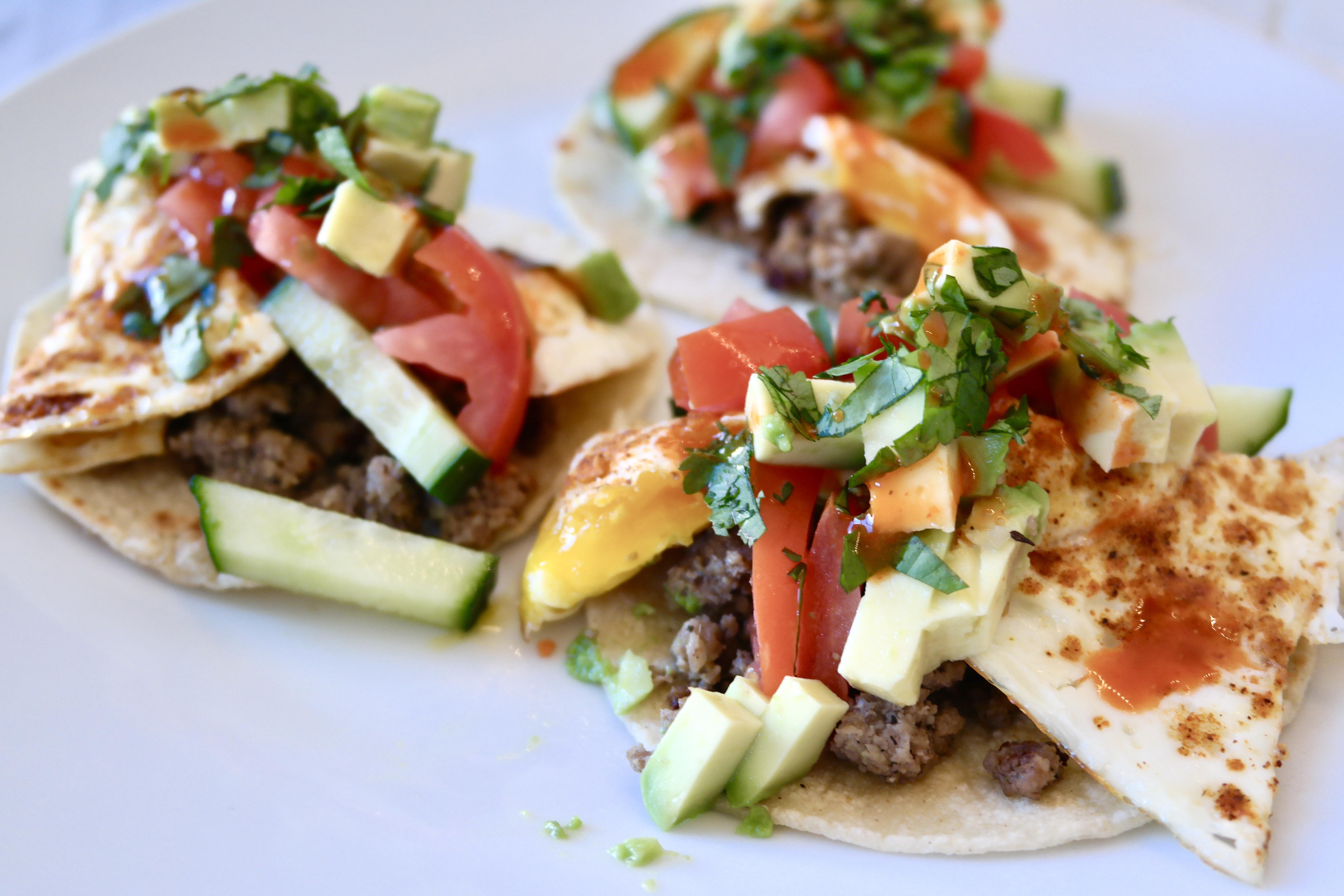 Healthy Breakfast Tacos  Healthy Breakfast Tacos Samantha Hauger