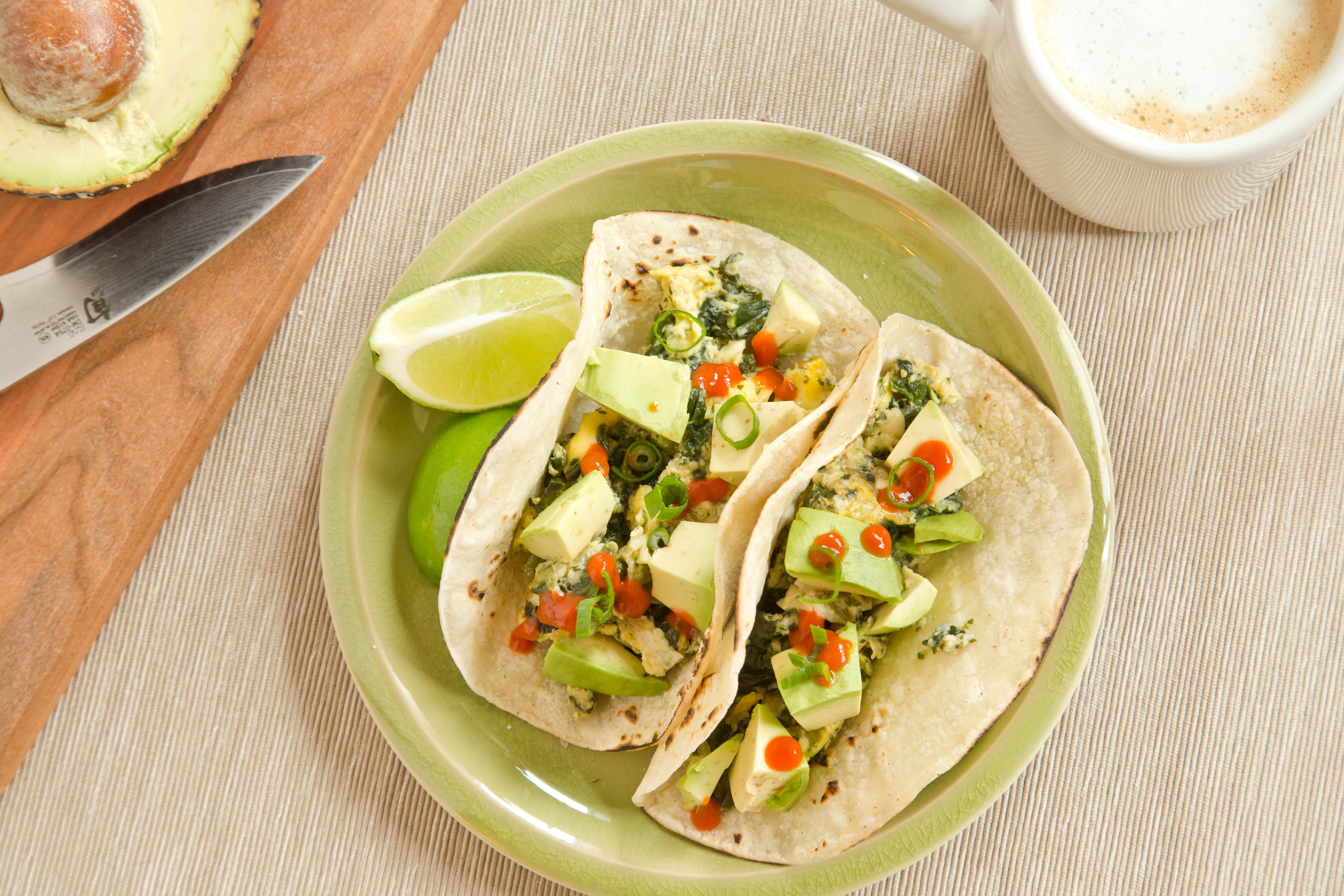 Healthy Breakfast Tacos  Avocado Spinach and Egg Breakfast Tacos TODAY