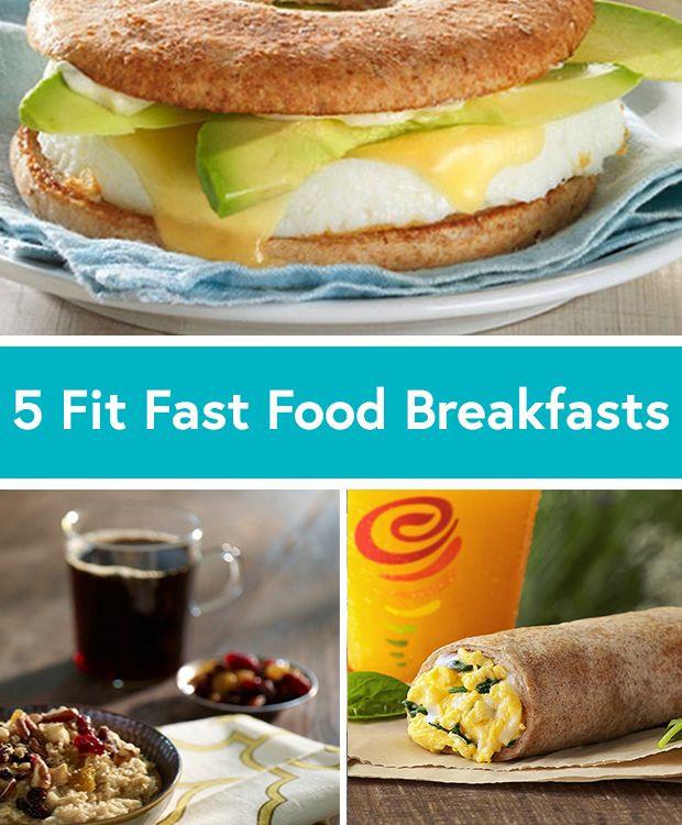 Healthy Breakfast Takeout  Best 25 Healthy fast food ideas on Pinterest