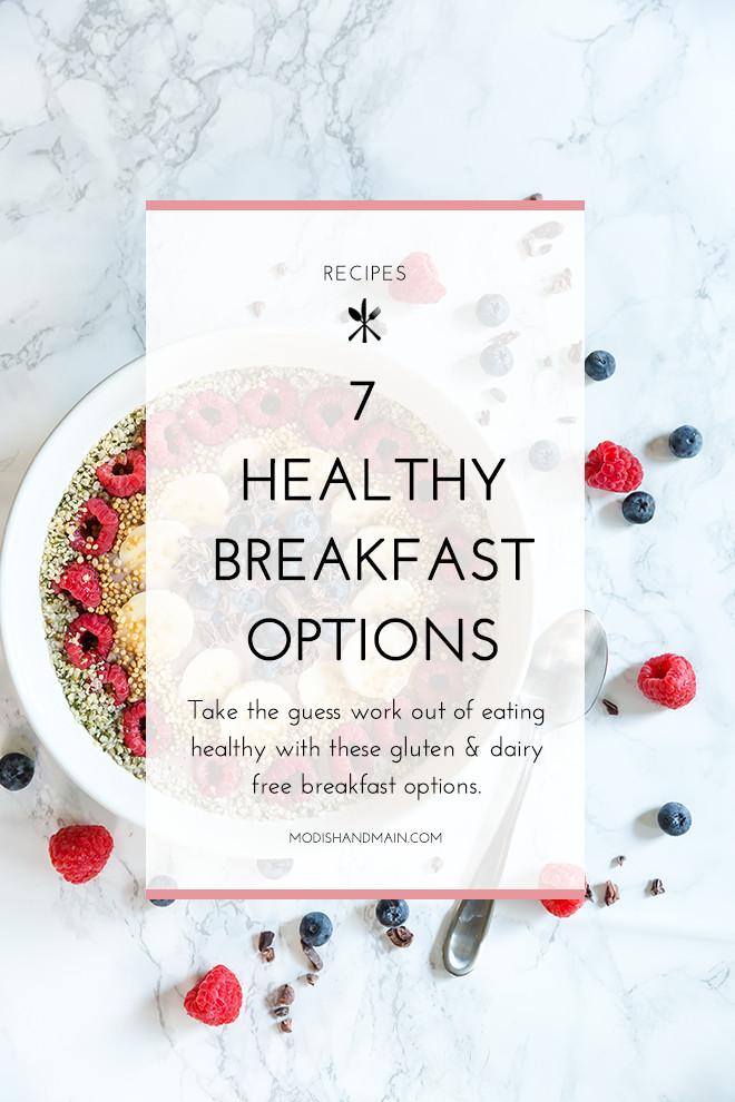 Healthy Breakfast Takeout  7 Healthy Breakfast Options