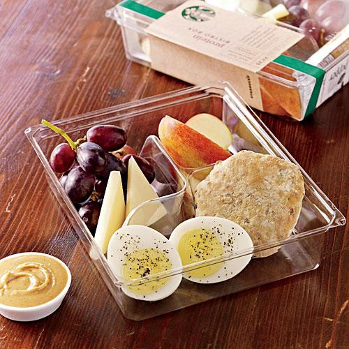 Healthy Breakfast Takeout  Starbucks Protein Bistro Box The Healthiest Fast Food