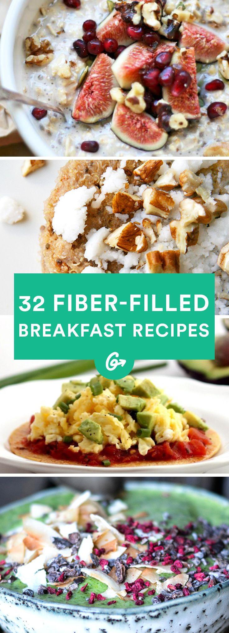 Healthy Breakfast That Keeps You Full  32 Healthy High Fiber Breakfast Ideas That Will Keep You