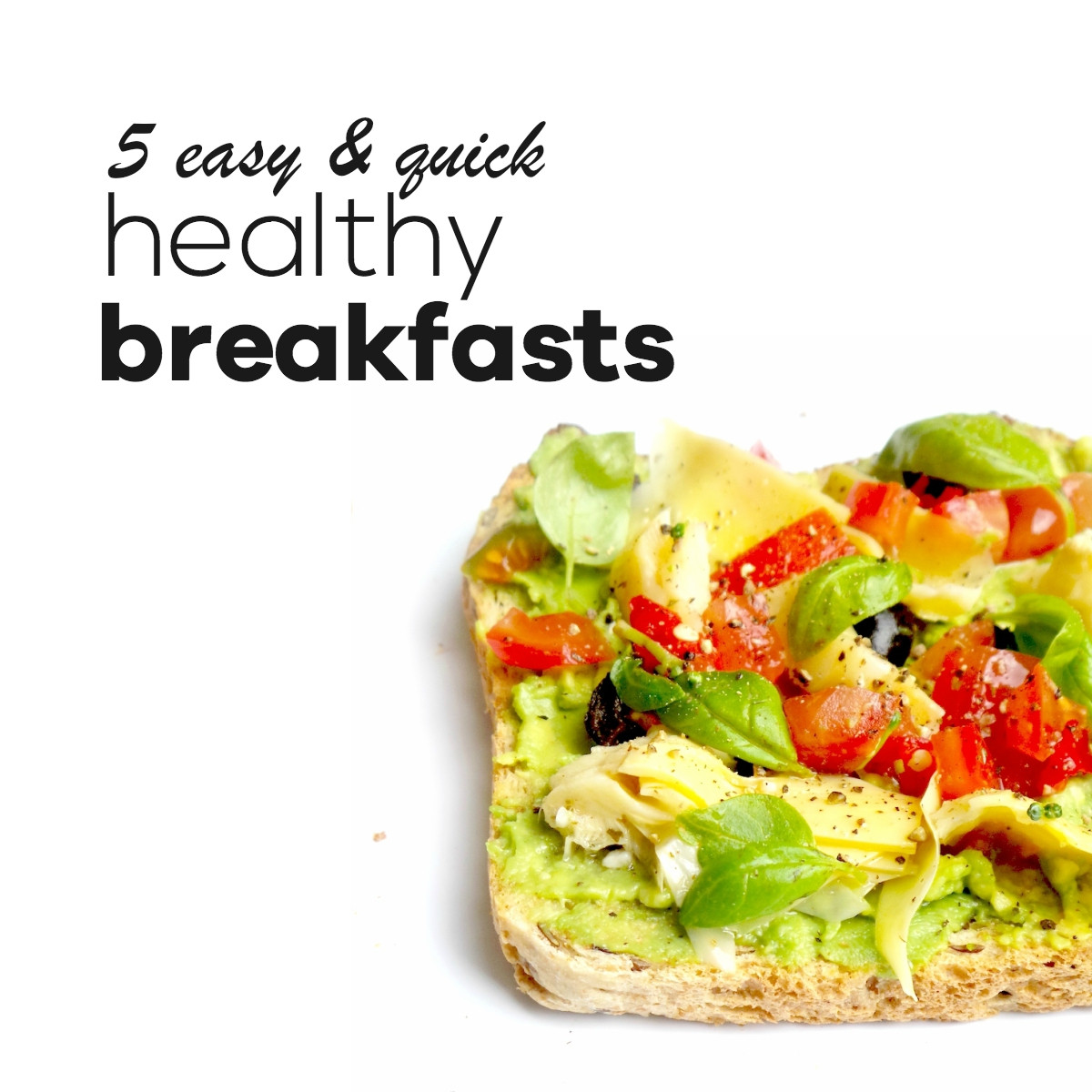 Healthy Breakfast That Keeps You Full  Easy Healthy Breakfasts To Start Your Day Right & Keep You