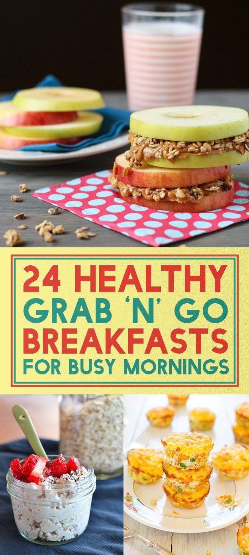 Healthy Breakfast To Go  24 Healthy The Go Breakfast Ideas