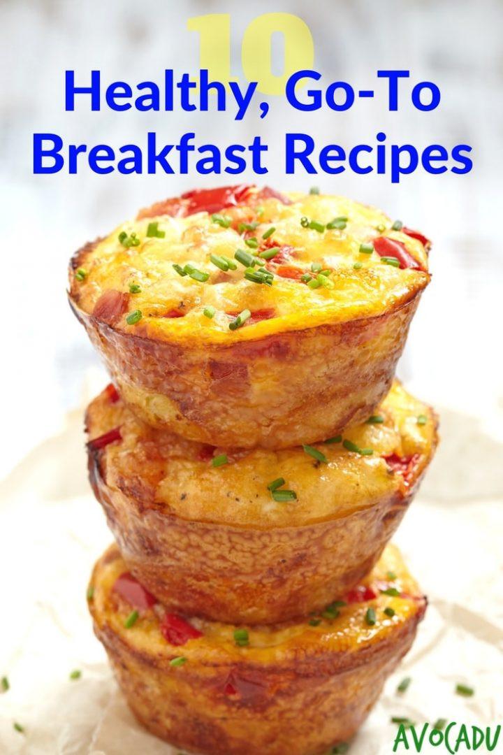 Healthy Breakfast To Go  10 Healthy Go To Breakfast Recipes Avocadu