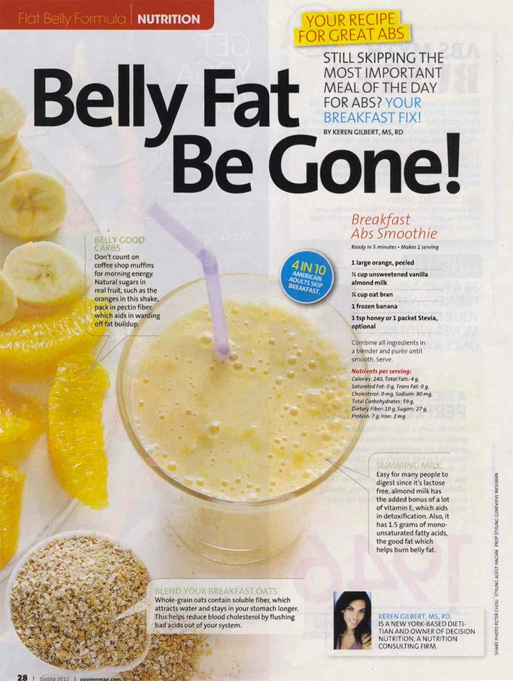 Healthy Breakfast To Lose Belly Fat  Belly Fat Be Gone Decision Nutrition