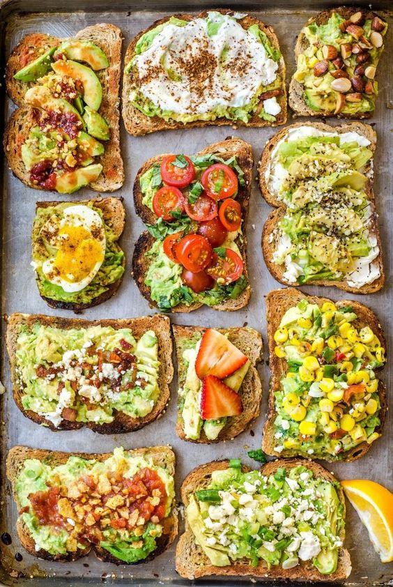 Healthy Breakfast Toast  14 Super Healthy Breakfast Ideas