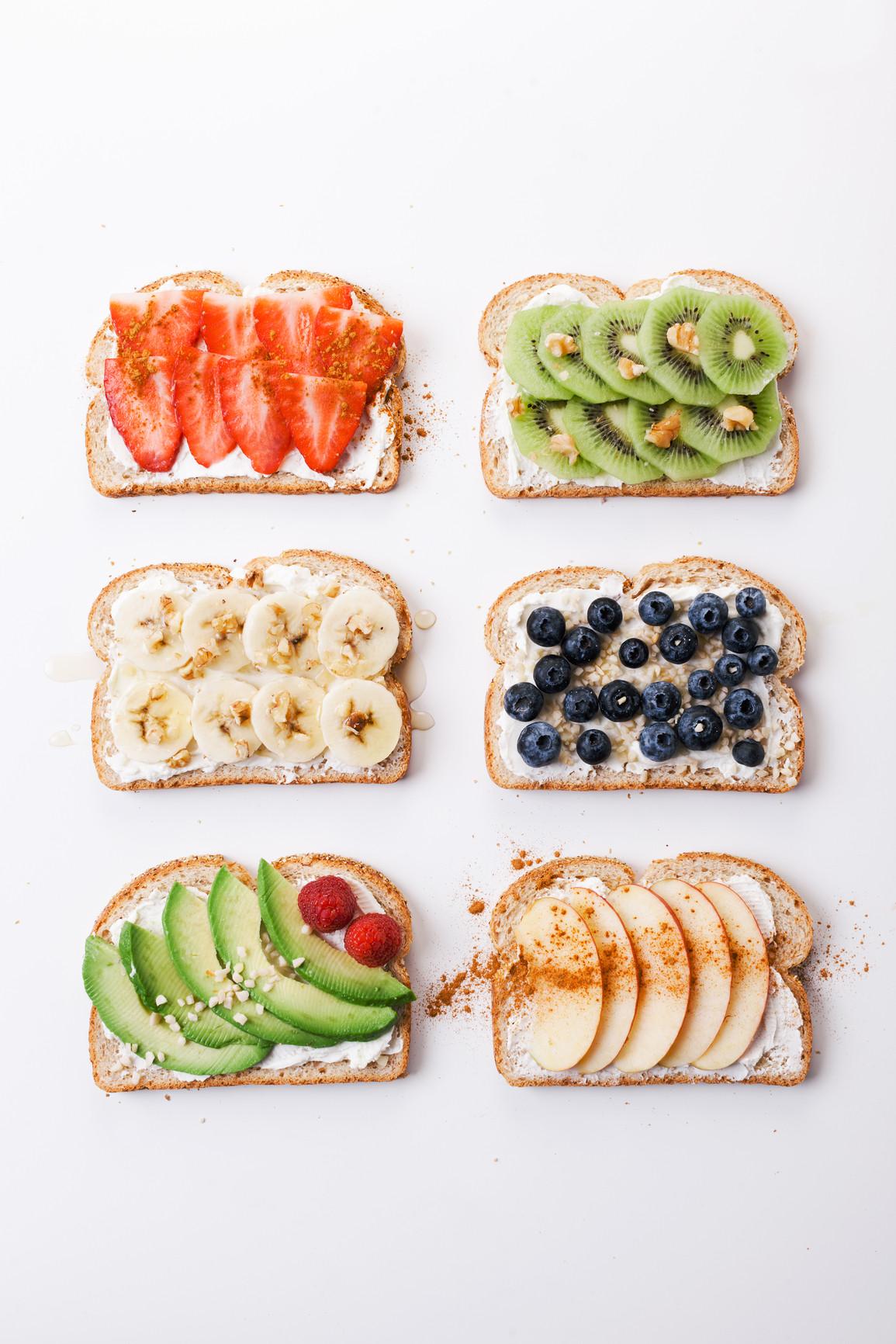 Healthy Breakfast Toast  6 Easy & Creative Ways to Fancy Up Breakfast Toasts Hot