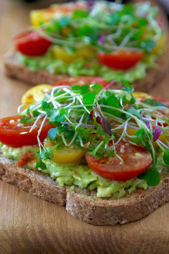 Healthy Breakfast Toast  Avocado Toast