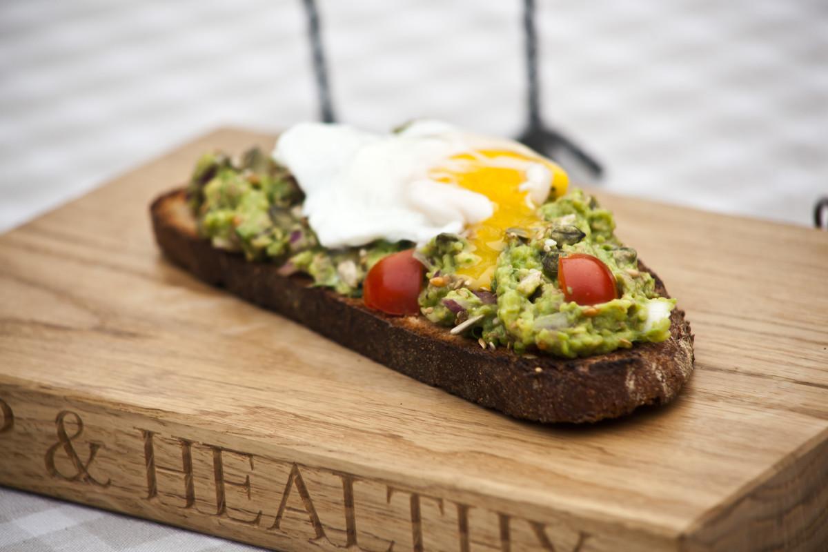 Healthy Breakfast Toast  Healthy Breakfast Recipe Eggs and Avocado on Toast Hip