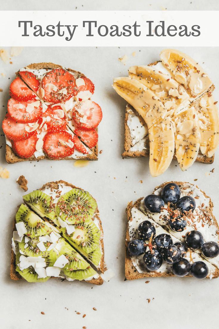 Healthy Breakfast Toast  10 Tasty Toast Ideas