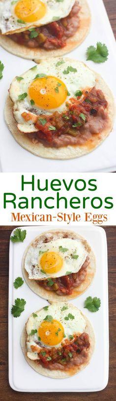 Healthy Breakfast Tucson  1000 ideas about Huevos Rancheros on Pinterest