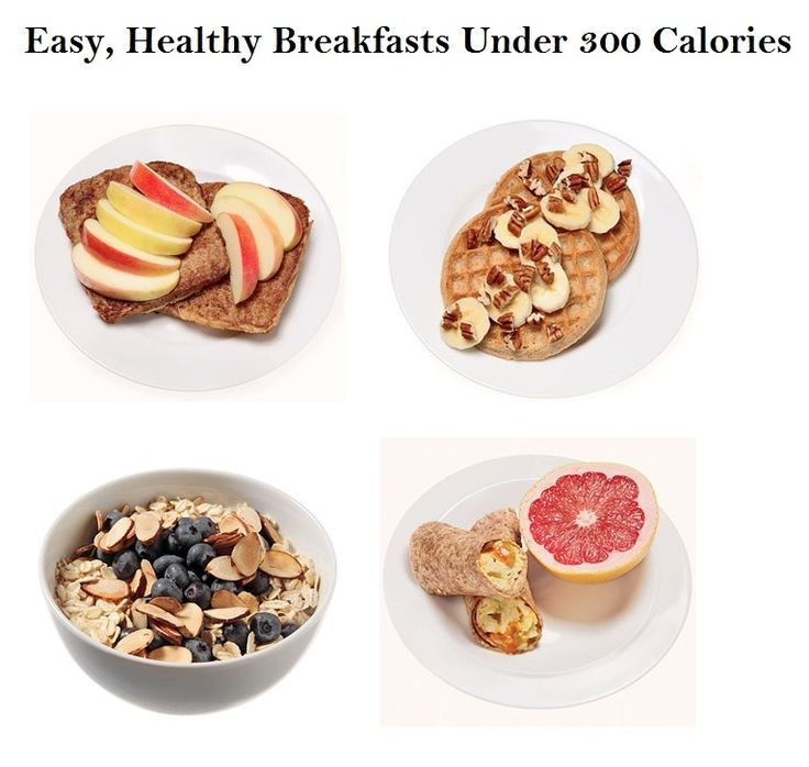 Healthy Breakfast Under 300 Calories  100 best images about Healthy food on Pinterest