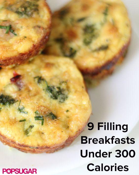 Healthy Breakfast Under 300 Calories  Under 300 calories 300 calories and Breakfast on Pinterest