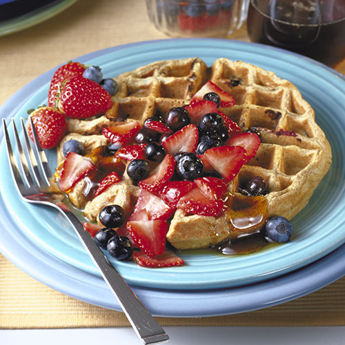 Healthy Breakfast Waffles  Make the Most out of a Continental Breakfast
