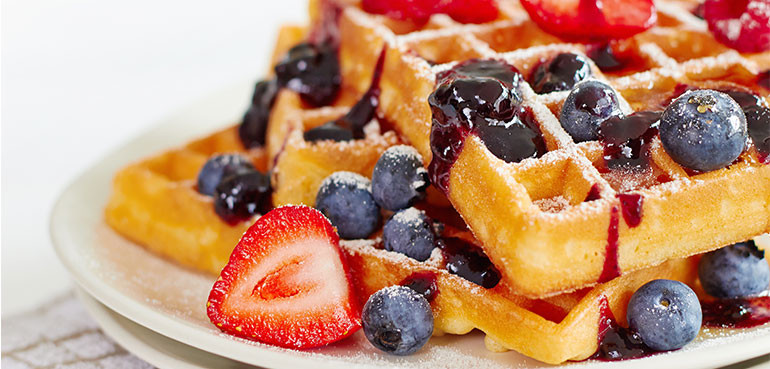 Healthy Breakfast Waffles  Healthy Dining Finder Can Waffles Be Part of a Healthy