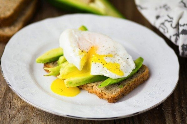 Healthy Breakfast With Eggs And Avocado  Egg and Avocado Toast