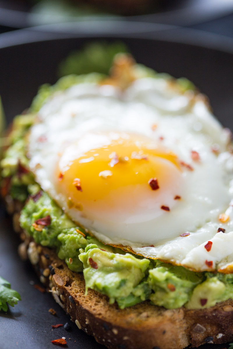 Healthy Breakfast With Eggs And Avocado  Healthy 5 Minute Avocado Toast