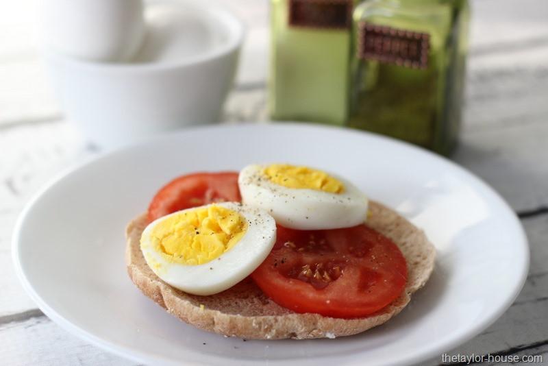 Healthy Breakfast With Hard Boiled Eggs  Healthy Egg Breakfast SimpleStart