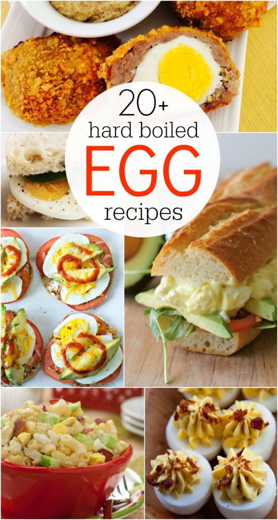 Healthy Breakfast With Hard Boiled Eggs  20 hard boiled egg recipes
