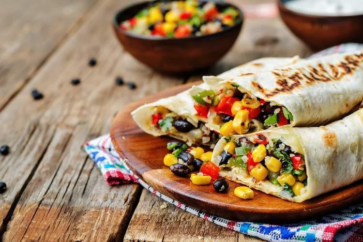 Healthy Breakfast Without Eggs  Healthy Homemade Frozen Burritos Slender Kitchen
