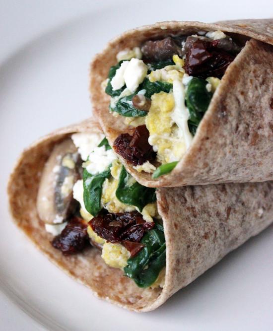 Healthy Breakfast Wrap Recipes  Starbucks Spinach and Feta Wrap Recipe