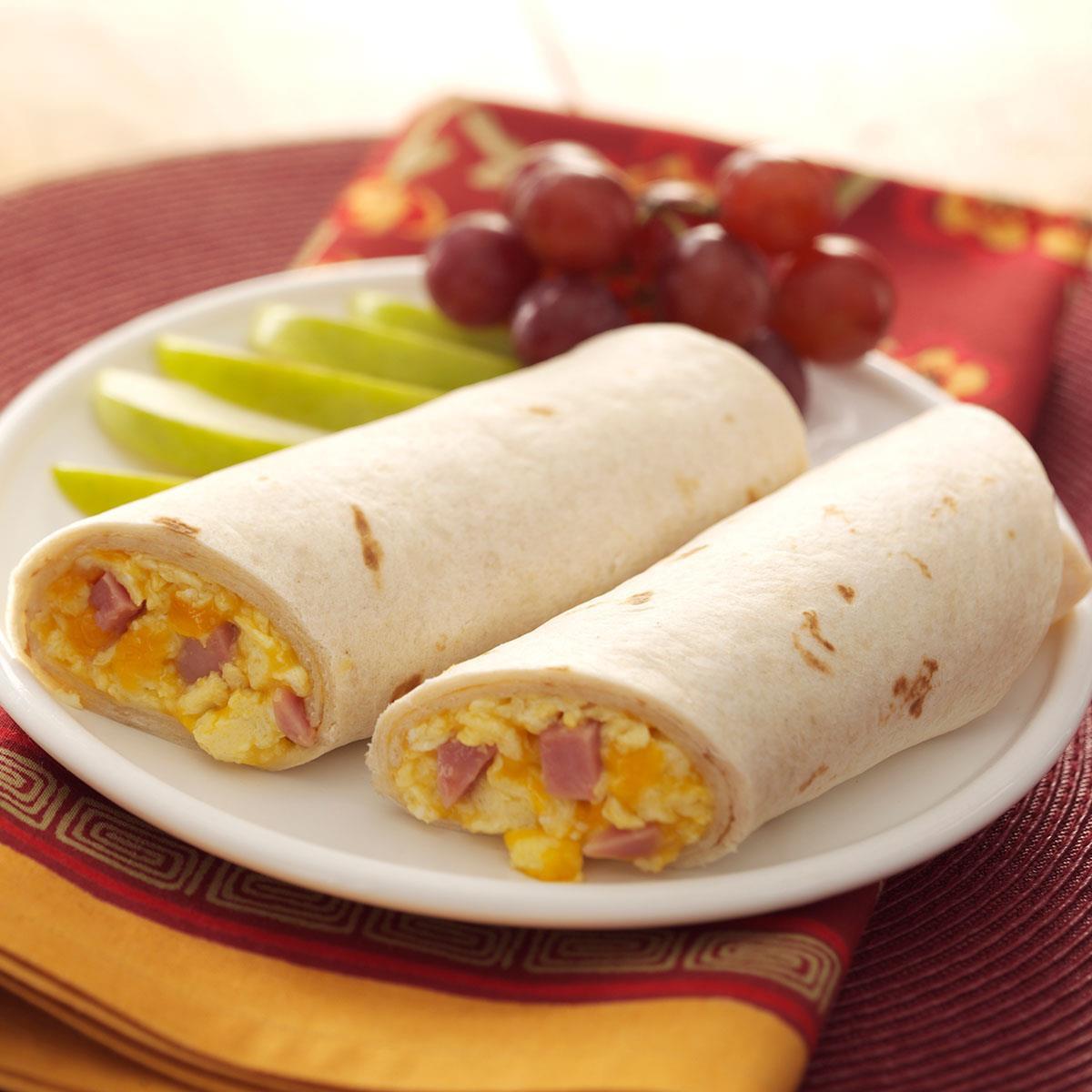 Healthy Breakfast Wrap Recipes  Breakfast Wraps Recipe
