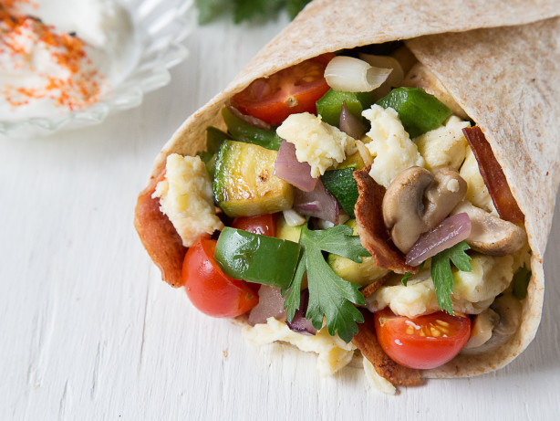 Healthy Breakfast Wrap Recipes  Healthy Italian Breakfast Wraps Recipe Food