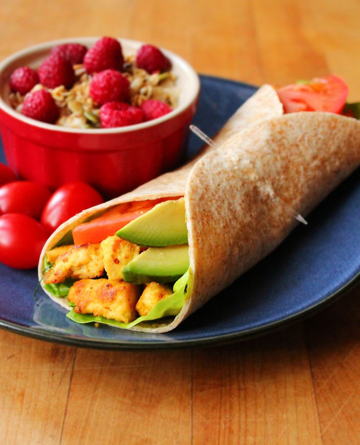 Healthy Breakfast Wrap Recipes  Scrambled Tofu Breakfast Wrap Recipe