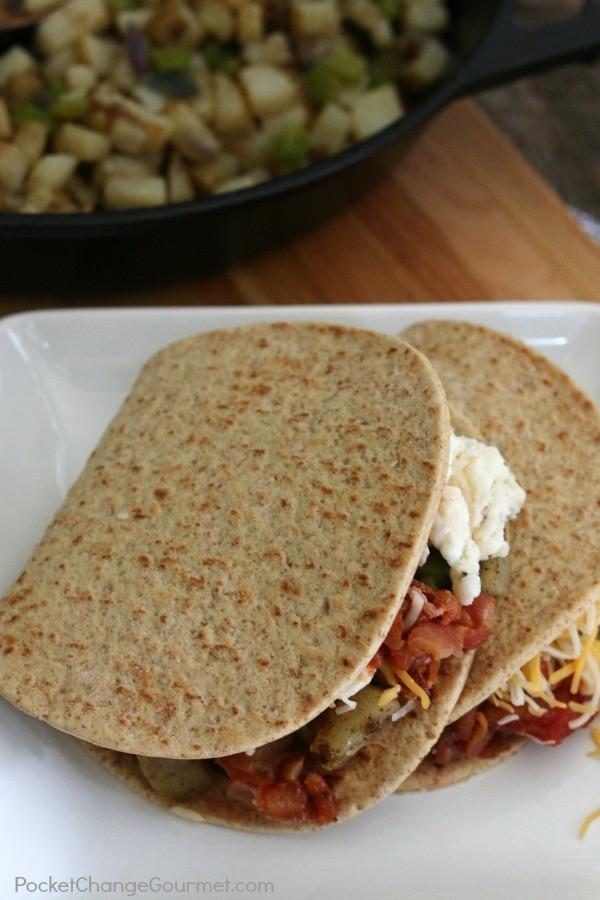 Healthy Breakfast Wrap Recipes  Healthy Southwest Breakfast Wraps Recipe