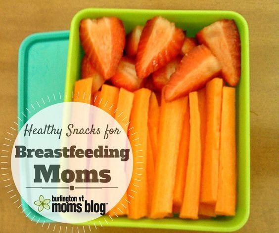Healthy Breastfeeding Snacks  Healthy easy snacks for breastfeeding moms