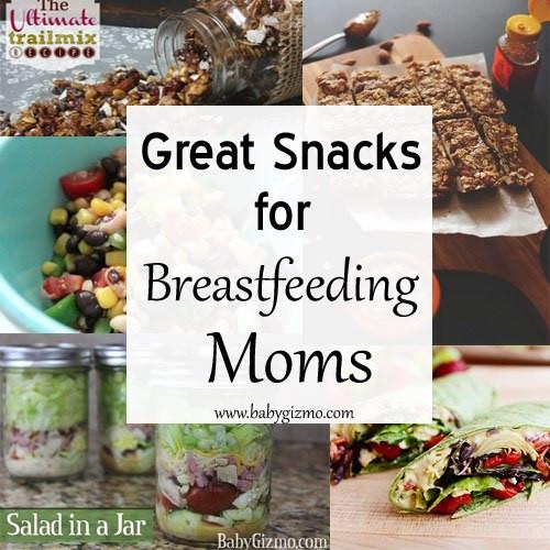 Healthy Breastfeeding Snacks  Great Snacks To Bring The Breastfeeding Mom