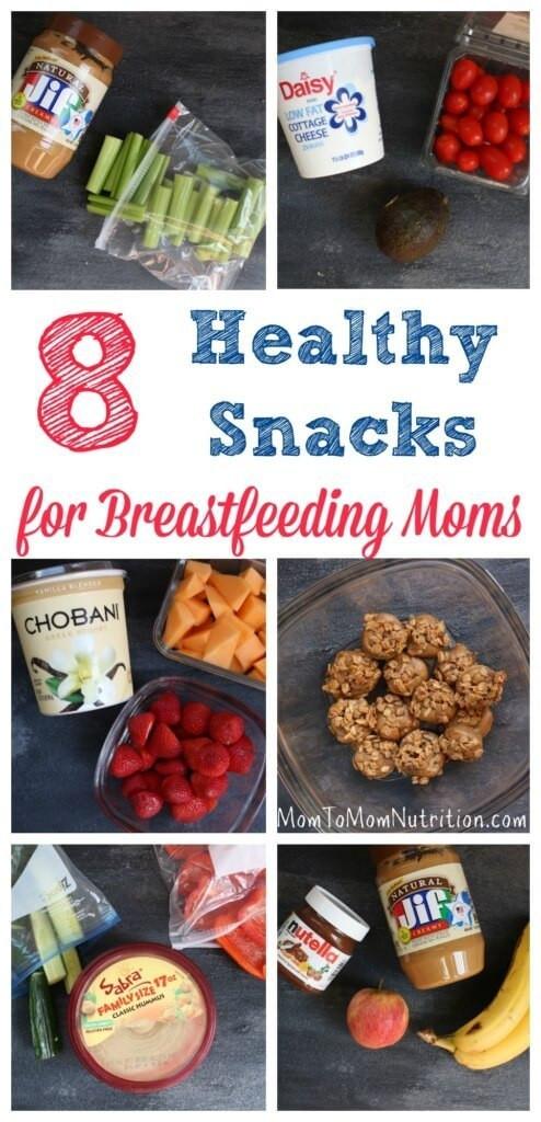 Healthy Breastfeeding Snacks  8 Healthy Snacks for Breastfeeding Moms Mom to Mom Nutrition