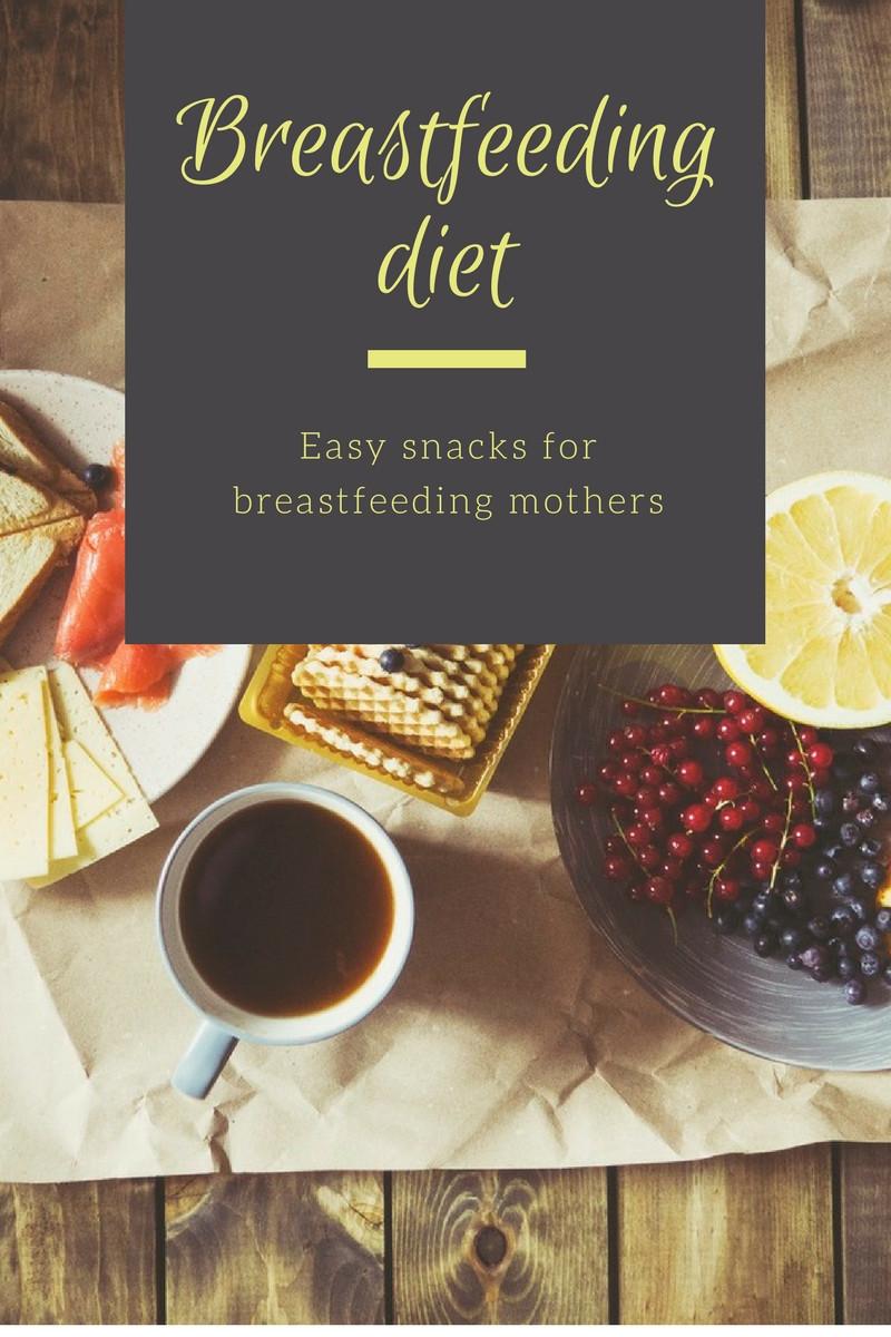 Healthy Breastfeeding Snacks  Easy Snack Ideas For Breastfeeding Mothers Easy Mommy Life