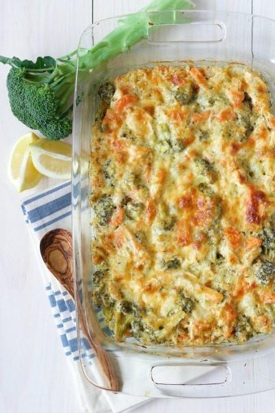 Healthy Broccoli Chicken Casserole  Healthy Chicken Broccoli Casserole Grain Free Option