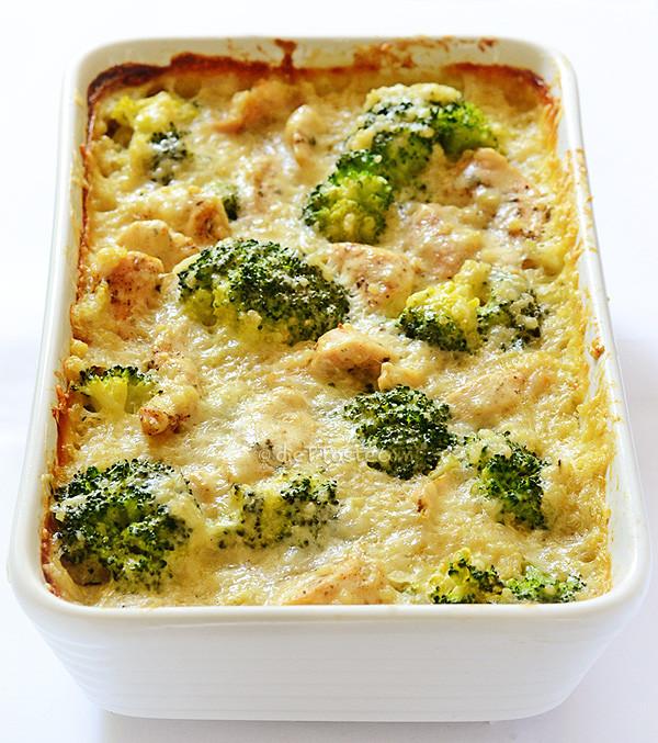 Healthy Broccoli Chicken Casserole  Chicken Quinoa and Broccoli Casserole