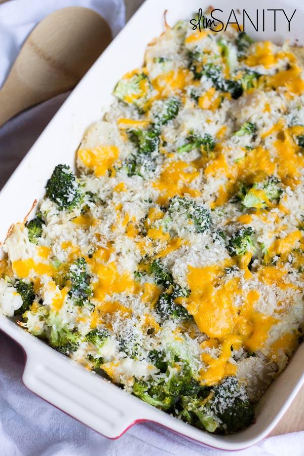 Healthy Broccoli Chicken Casserole  Healthy Broccoli Chicken Casserole made in 30 minutes