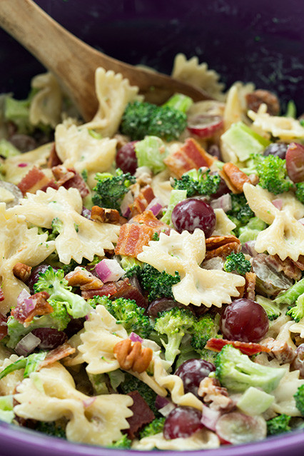 Healthy Broccoli Pasta Salad  19 Mind Blowing Bow Tie Pasta Dishes