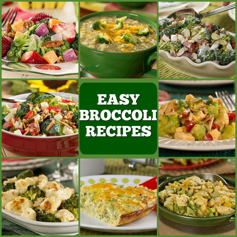 Healthy Broccoli Recipes  10 Easy Broccoli Recipes