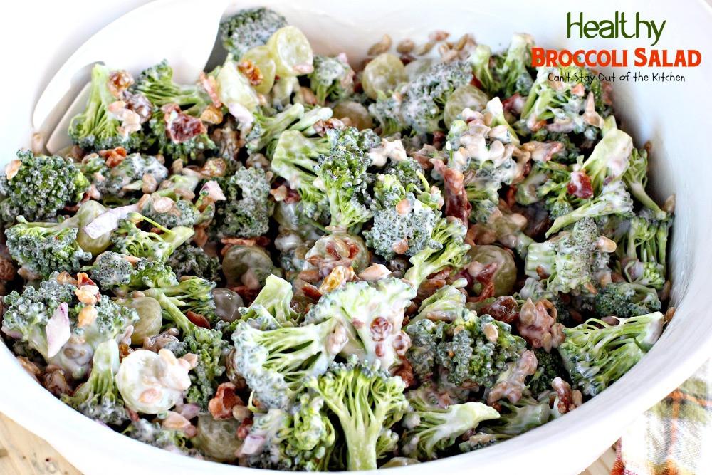 Healthy Broccoli Recipes  broccoli salad recipes healthy