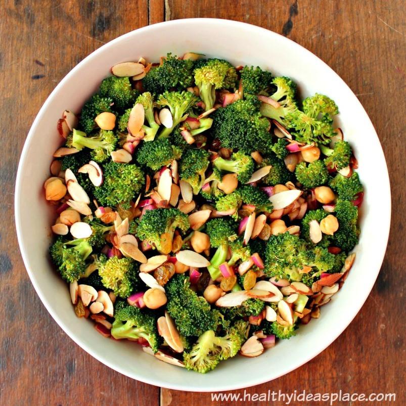 Healthy Broccoli Salad Recipe  Broccoli Salad Healthy Ideas Place