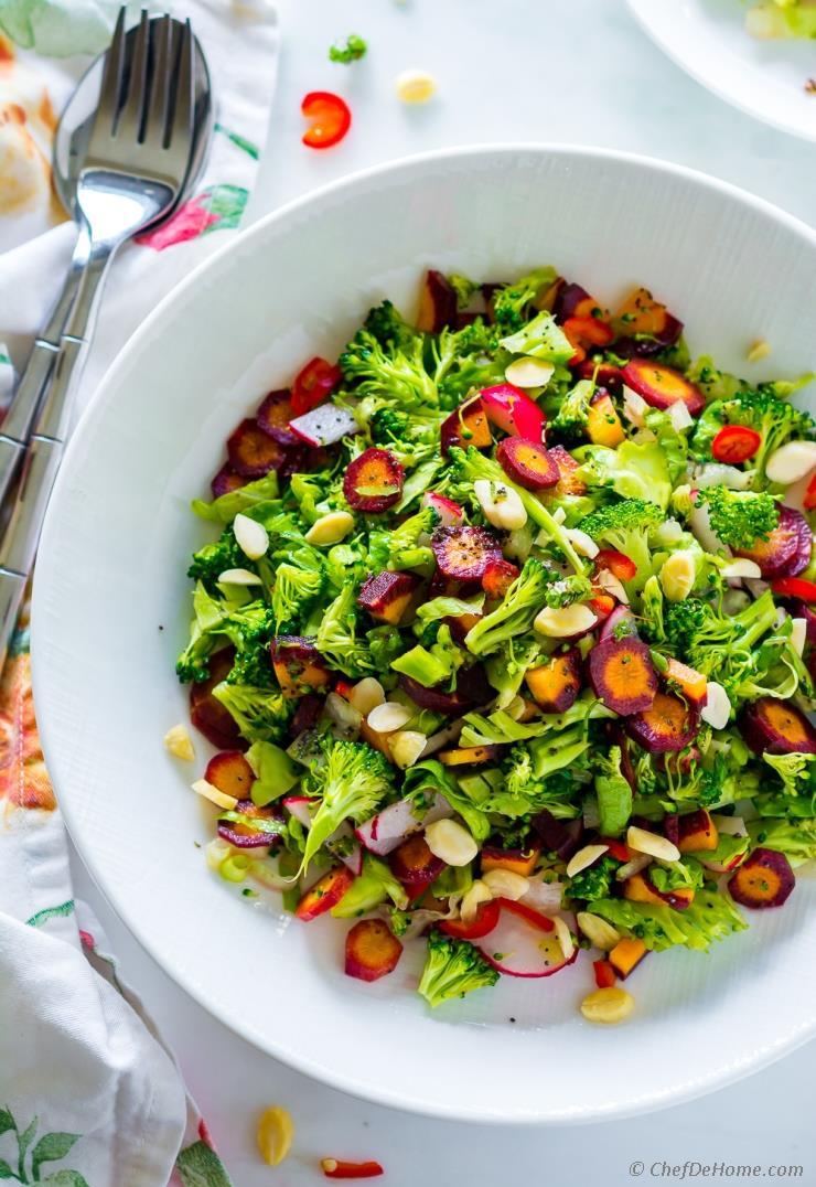 Healthy Broccoli Salad Recipe  Winter Detox Healthy Broccoli Salad Recipe